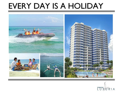 AmiSa; Every day is a holiday. A beach condo investment in Mactan, Cebu.